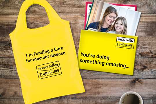 Your Fund a Cure welcome pack