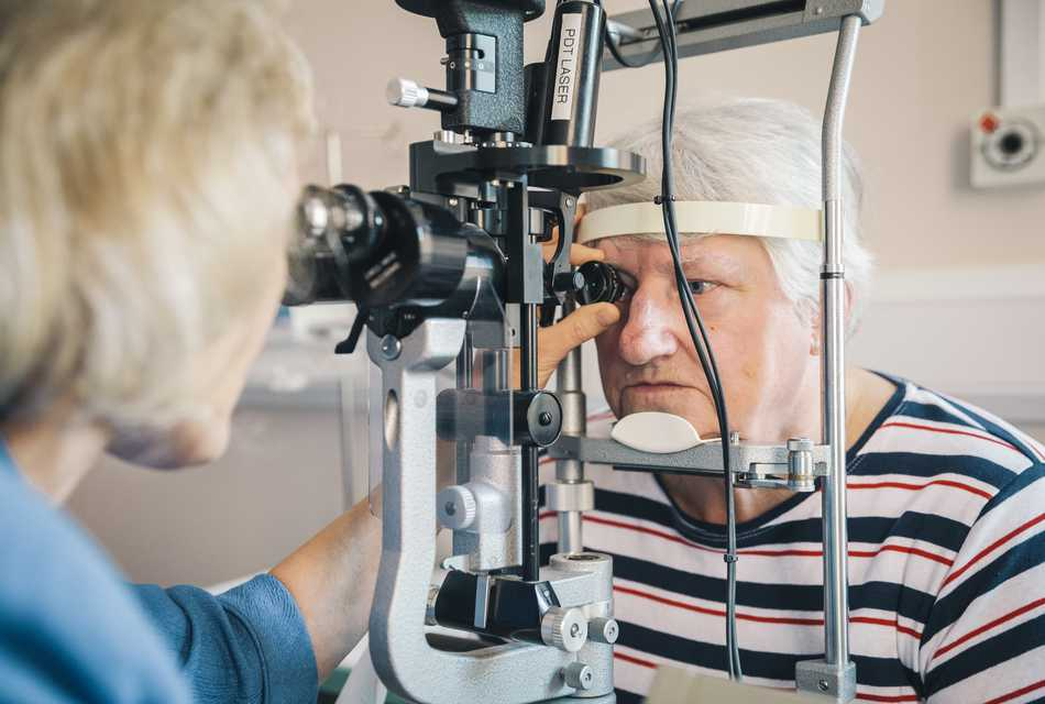 How can eye clinics improve AMD services?