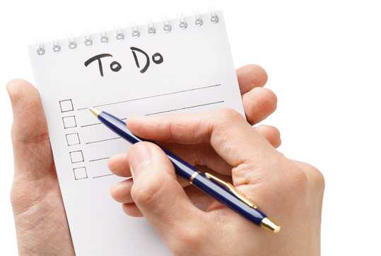 Newly Diagnosed To-Do List