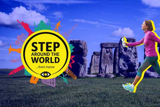 Step Around the World (...from home)
